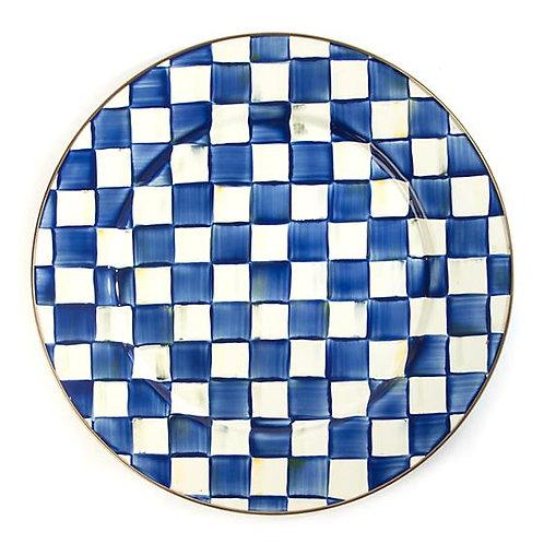 Royal Check Serving Platter