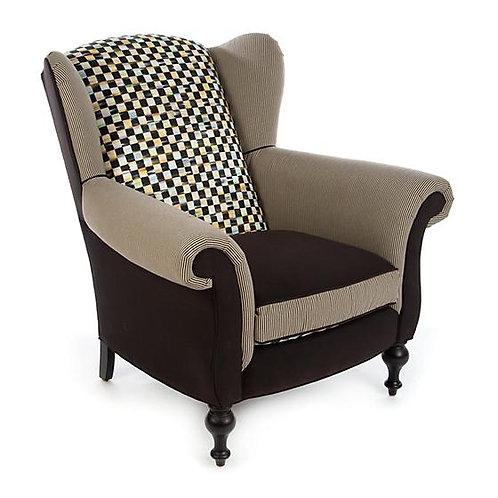 Underpinnings Studio Wing Chair - Black