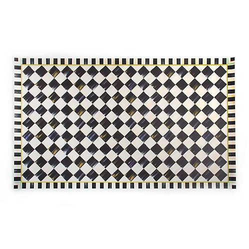 Courtly Check Floor Mat - 3' x 5'