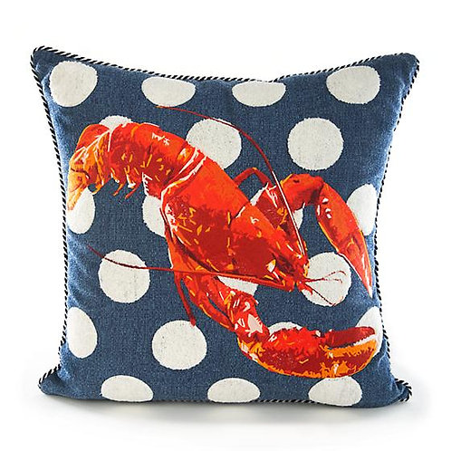 Lobster Outdoor Accent Pillow