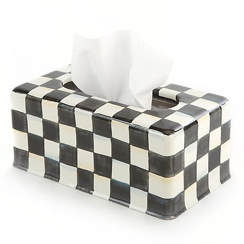 Courtly Check Standard Tissue Box Cover