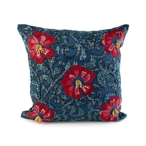 Bluetopia Shimmer Pillow
