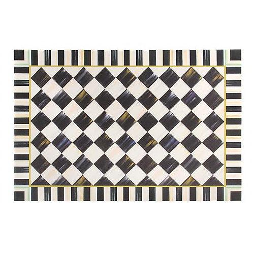 Courtly Check Floor Mat 2'x 3'