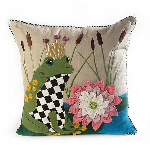 Frog O. Nard Pillow