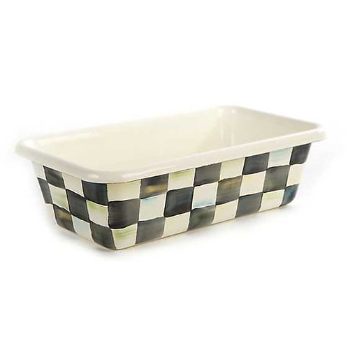 Courtly Check Enamel Loaf Pan