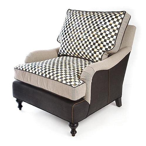 Underpinnings Studio Occasional Chair - Black