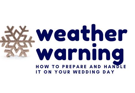 Weather Warning Ahead