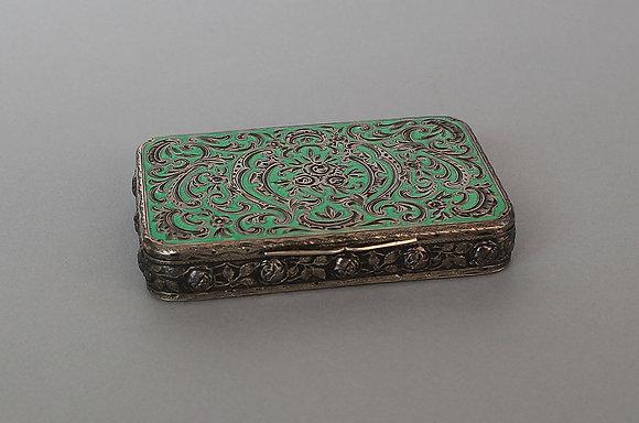 Austrian Enamel Box