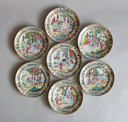 Set of Chinese Plates