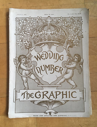 """""""The Graphic Magazine"""" July 11th 1891"""