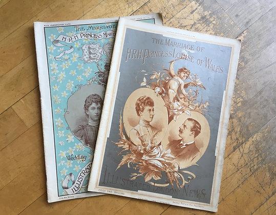 Pair of Antique Magazines