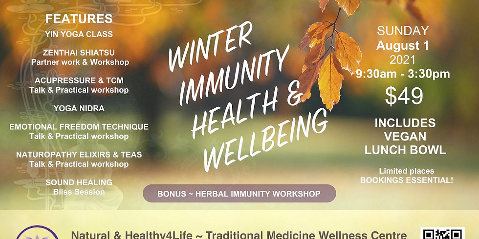 HEALTHY4LIFE WELLNESS DAY Sunday August 1, 2021