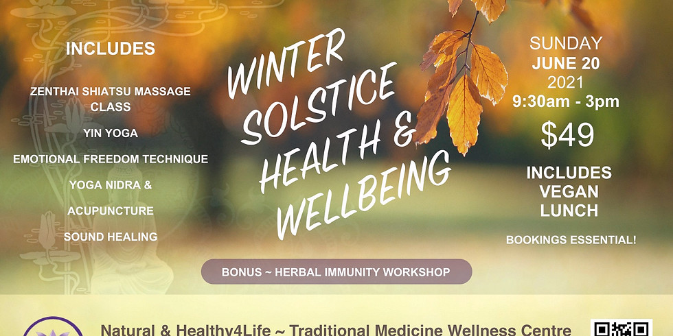 HEALTHY4LIFE WELLNESS DAY Sunday 20th JUNE 2021
