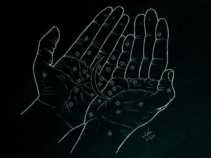 Fingerprints on the Window