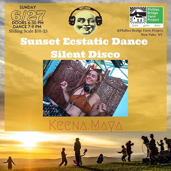 Sunset Ecstatic Dance Silent Disco with Keena.Maya