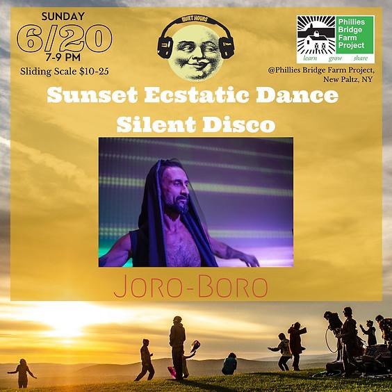 Sunset Ecstatic Dance Silent Disco with Joro-Boro