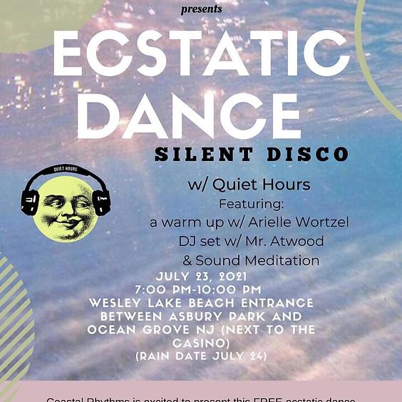 Ecstatic Dance Silent Disco on the Beach!