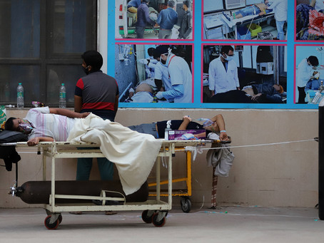 Burnout, Grief As Delhi's Healthcare Workers Face Covid Mayhem