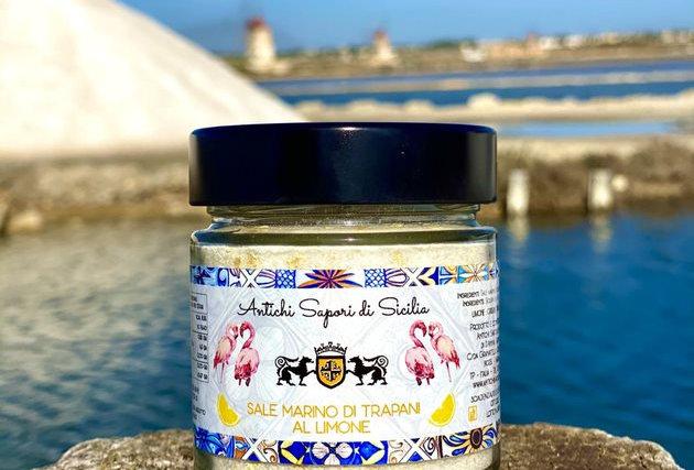 SEA SALT WITH LEMON 200g - ANTICHI SAPORI DI SICILIA