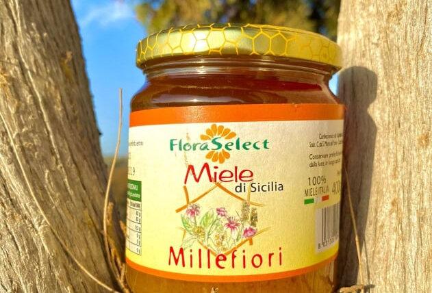 FLORA SELECT - MIELE DI MILLEFIORI 400g