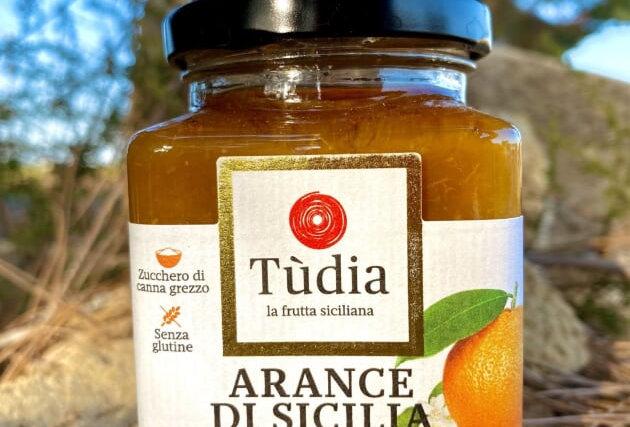 TUDIA - MARMELLATA ARANCÉ DI SICILIA 220g