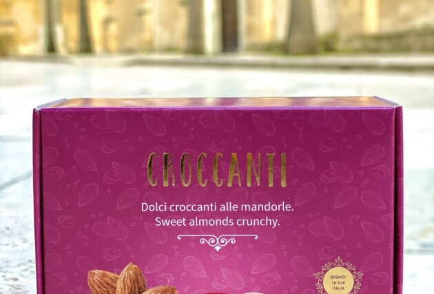 CRISPY COOKIES WITH ALMONDS 100g - I DOLCI SAPORI DELL'ETNA