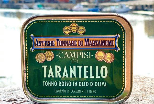 CAMPISI 1854 - TARANTELLO DI TONNO ROSSO IN OLIO DI OLIVA 340g