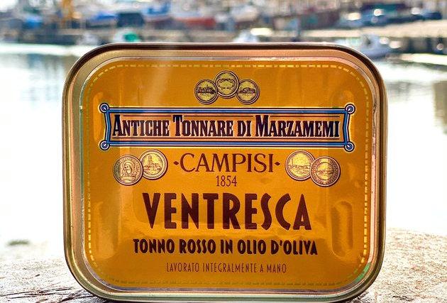 CAMPISI 1854 - VENTRESCA DI TONNO ROSSO IN OLIO DI OLIVA 340g