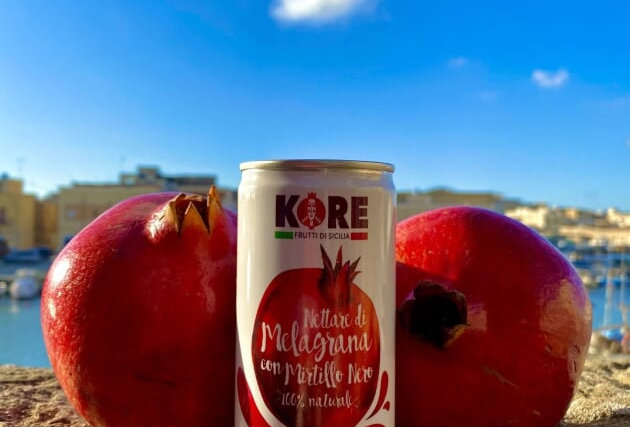 100% NATURALNECTAR OF POMEGRANATE WITH BLACK BLUEBERRY 200ml - KORE