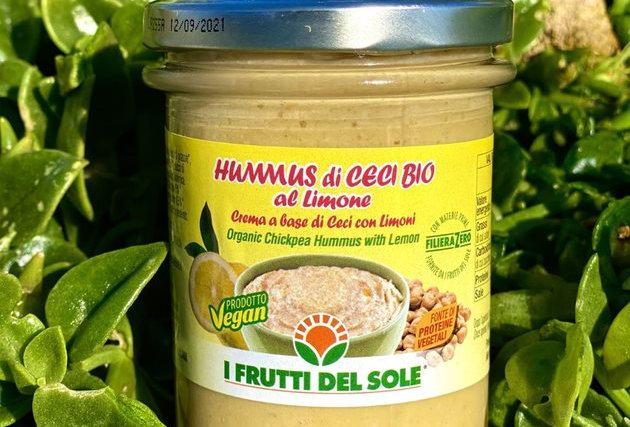 HUMMUS S CITRÓNEM 180g - FRUTTI DEL SOLE