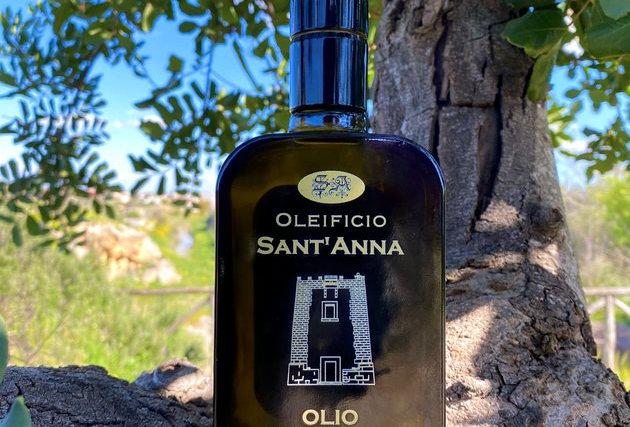 OLEIFICIO SANT'ANNA - OLIO EXTRA VERGINE DI OLIVA DELICATO 0,25l