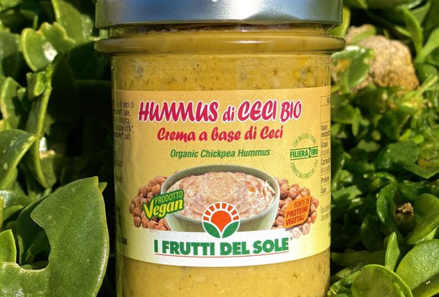 HUMMUS 180g - FRUTTI DEL SOLE