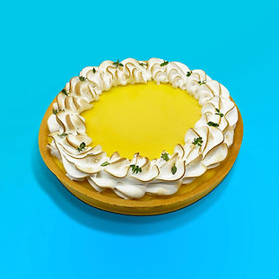 Lemony Meringue Tart