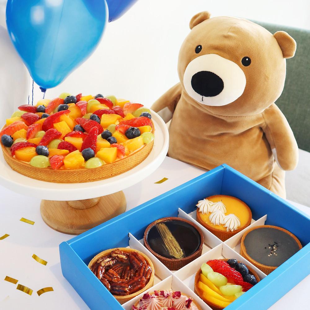 Wunderfolks Handmade Tarts, Birthday Fruit Tart and assorted flavours
