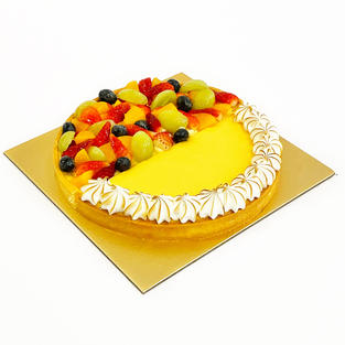 Duo Flavour Tart - Lemony Meringue and Fruitilicious Fruit