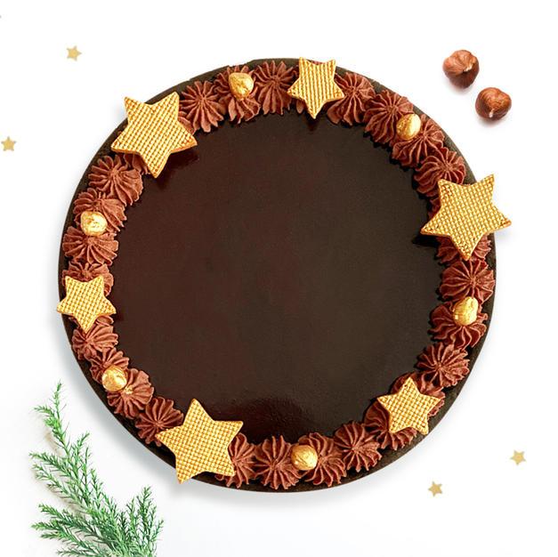 Starry Hazelnut Dark Chocolate