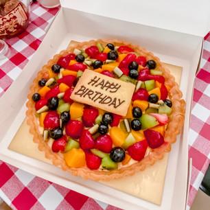 Happy Birthday Celebration Tart