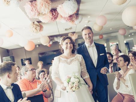 Notre cérémonie La Plume n'a laissé personne indifférent… la cerise sur notre gâteau de mariage !