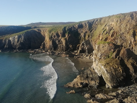 Accessing secluded beaches