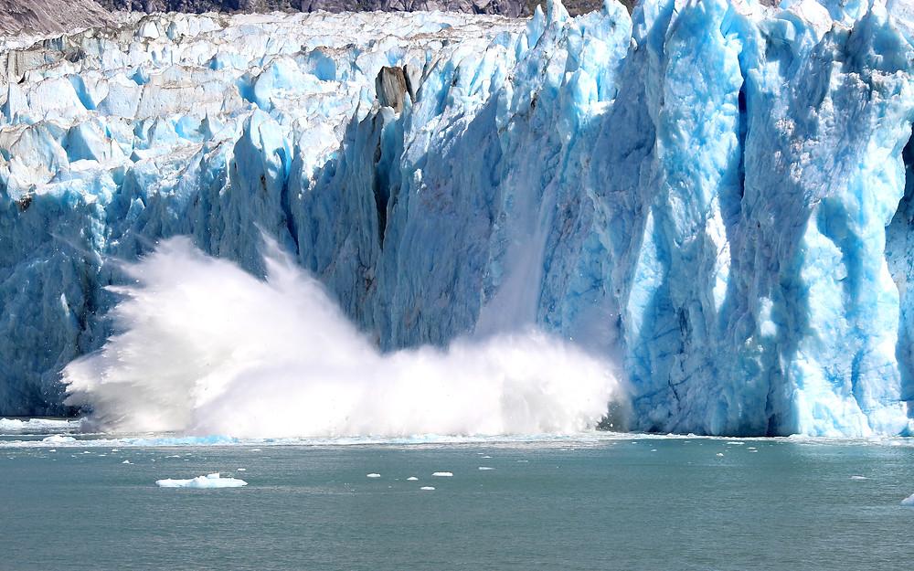 Dawes Glacier, Endicott Arm, Juneau Alaska