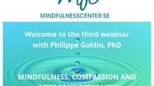 16 maart 2021: Webinar met Philippe Goldin 'Mindfulness, compassion and interconnectedness'