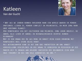'Pandemic & mindfulness practice - evidence of effects' met Katleen Van der Gucht.