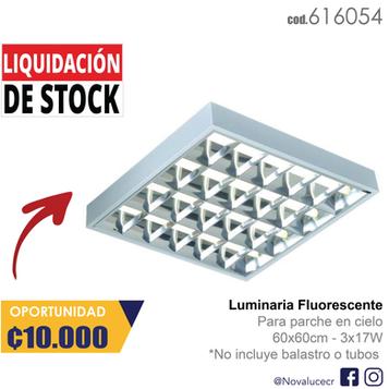 Fluorescente de Parche 60x60cm