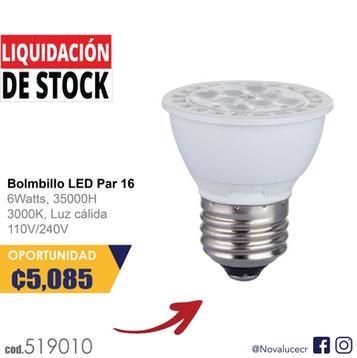 Bombillo LED PAR16