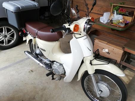 お洒落バイクおじさん始めました