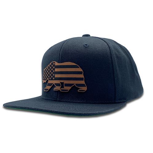 American Bear - Classic Flat Bill