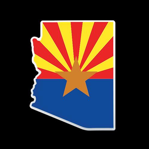 The Arizona - Domed Decal
