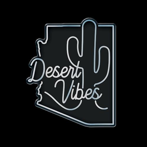 Desert Vibes - Domed Decal