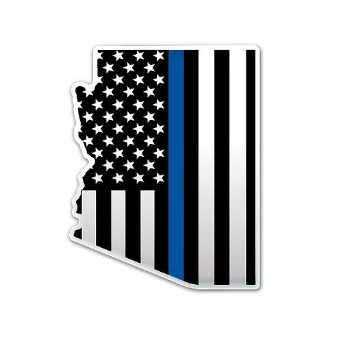 Thin Blue 48 - Domed Decal
