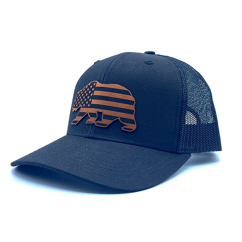 American Bear - Curved Trucker
